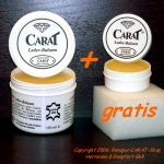15% discount for CARAT Leather Balsam 170 ml + CARAT 30 ml + sponge for free!